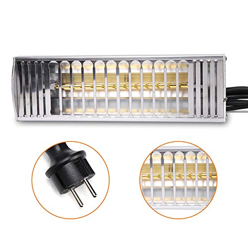 OUKANING Lacktrockner 1000W Tragbar Infrarotheizung Lampe Auto Lackierung Werkzeug