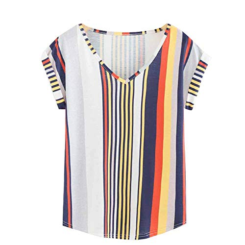 efc524a053f0 TOPKEAL T Shirts Ladies Short Sleeve Summer Blouses Women Tops Tees Casual  Fashion 2019 (White