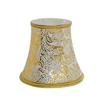 Abat-jour doré lustre et applique - Adeline