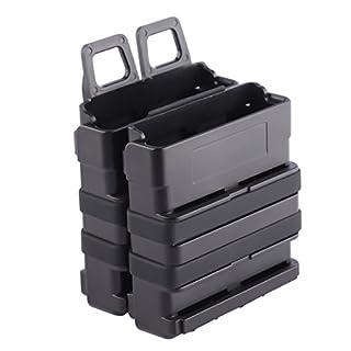 TXXCI Soft Bullet Clip Magazine Halter Quick Pull Box Für Nerf - Schwarz