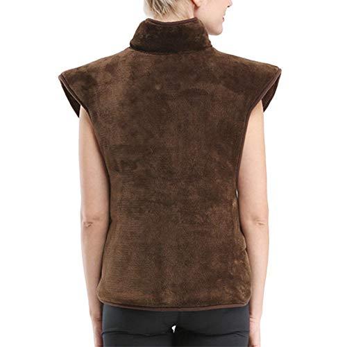 Heizkissen für den Schulter und Rückenbereich Wärmekissen Nacken für Mittleren Alters und ältere Menschen