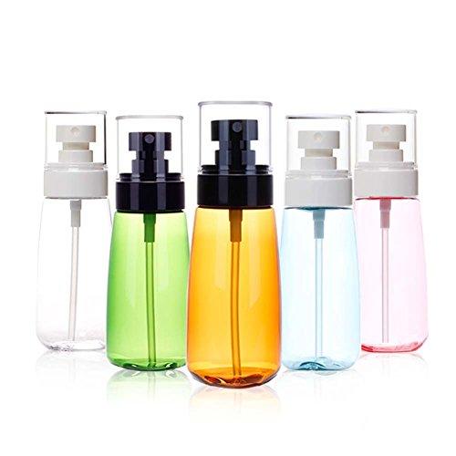 Sprühflaschen, Sunbeter Beauty Tragbare Zerstäuber Leere Flüssigkeit Mist Sprayer Flaschen Nachfüllbare Feine Reiseflasche Set (5 Stücke * 100 ML) -