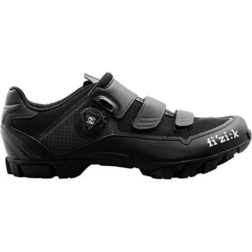 fizik M6B MTB Schuhe schwarz/schwarz Schuhgröße EU 39 2019 Rad-Schuhe Radsport-Schuhe (Damen-touren-rad-schuhe)