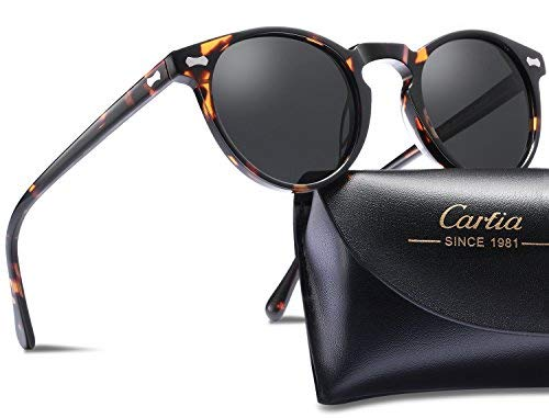 Carfia Mens Unisex Polarized Sun...