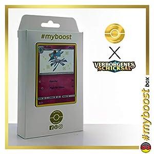 Kirlia SV35/SV94 Variocolor - #myboost X Sonne & Mond 11.5 Verborgenes Schicksal - Box de 10 cartas Pokémon Alemán
