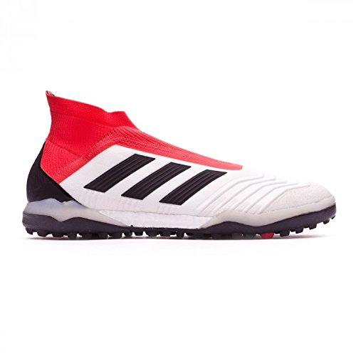 Adidas Predator Tango 18.4 In J, Zapatillas de Fútbol Sala Unisex Adulto, Blanco (Ftwbla/Negbas/Correa 000), 38 2/3 EU