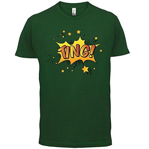 Superheld Ting - Herren T-Shirt - 13 Farben Flaschengrün