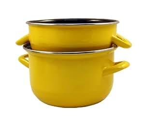 baumalu 312877 marmite moules 18 cm jaune. Black Bedroom Furniture Sets. Home Design Ideas