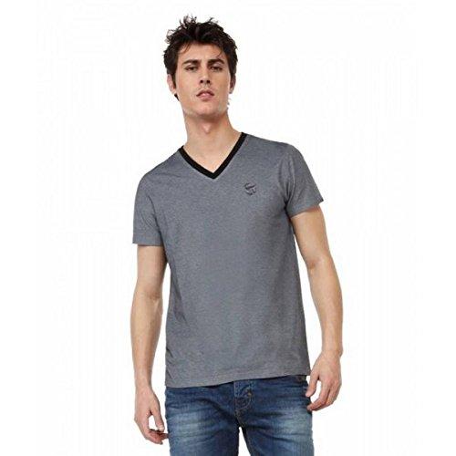 Redskins -  T-shirt - Collo a V  - Maniche corte  - Uomo grigio 42