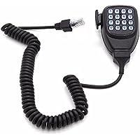 TOOGOO Microfono de Radio movilMicrofono de Altavoz DTMF para Kenwood Autoradio TM-261A TM-271A TM-461A TM-471A TK768G TK868G TKR-850 Transceptor