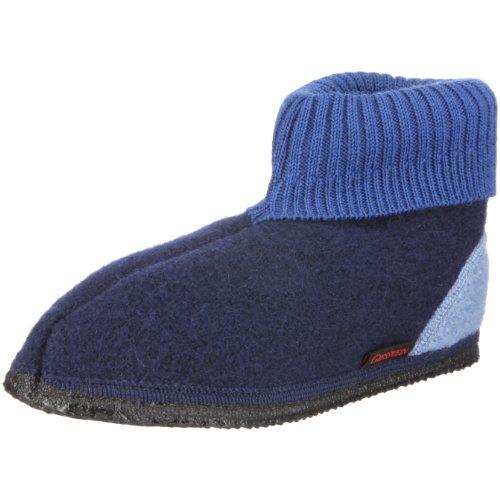 Giesswein Unisex - Bimbi 0-24 Kramsach pantofole blu Size: 44
