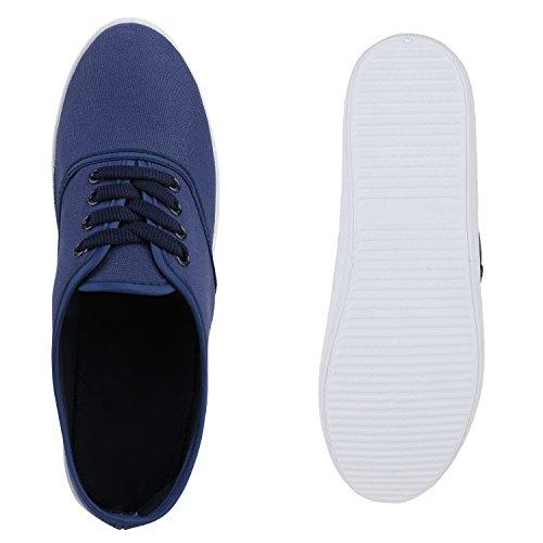 Sneaker Da Donna In Tessuto Sneaker Modello Basso Scarpe Basse Stampa Animalier Per Il Tempo Libero Sneakers Lace-up Flandell Blu Scuro Berkley