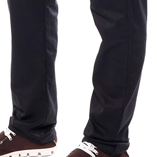 Pantaloni da chef   catering con elastico in vita  colore nero 982670f79cde