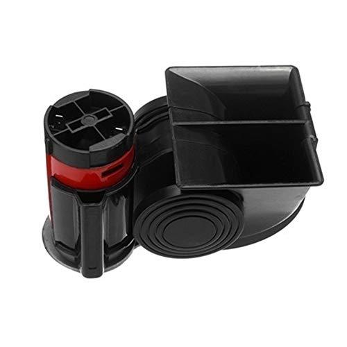 Universal 435HZ fort corne descargot klaxon de voiture air klaxon /étanche corne descargot haut-parleur pour moto v/éhicule camion 12V 110dB corne descargot Noir