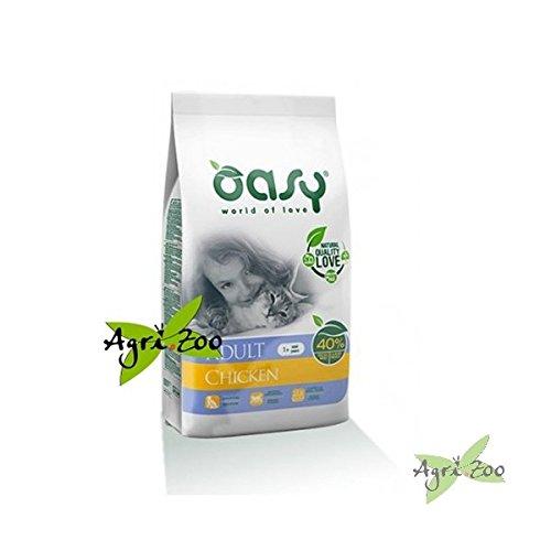 Oasy - Crocchette (diversi gusti) 7,5 kg [GATTO] (2 sacchi spedizione 3 euro) - Pollo