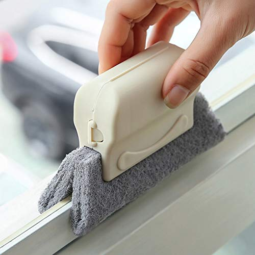 MachinYesell Haushaltsreinigungsbürste, Fensterschlitz, Fensterreinigungswerkzeug, Fensterrille, kleine Bürste, Tote Winkel, Bürste -