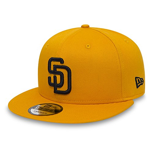 New Era 9FIFTY San Diego Padres Snapback Cap - MLB League Essential - Yellow