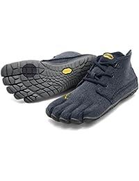 Vibram FiveFingers CVT de lana para Hombre - hombre zapatillas con dedos de lana azul/gris Talla:45