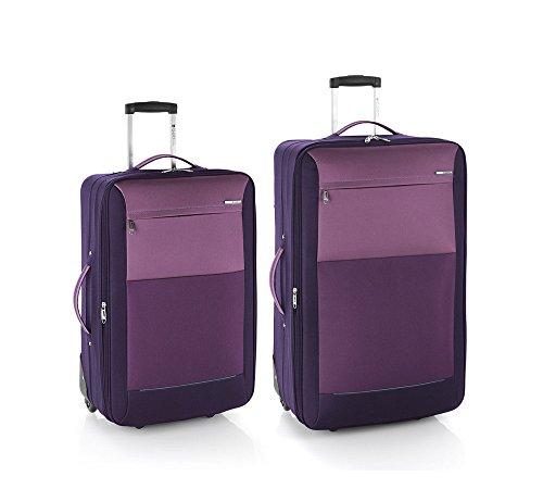 Gabol reims juego de 2 maletas: mediana y grande