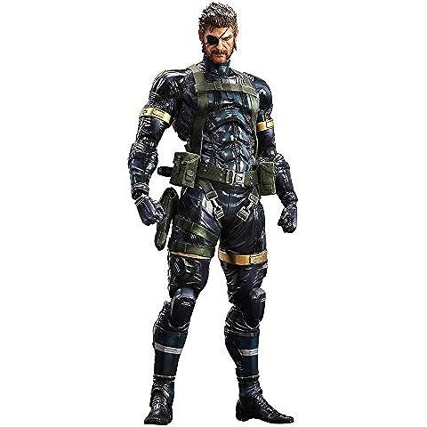Play Arts - Figura Snake Metal De Gear Solid 5: Ground Zeroes