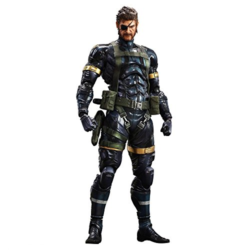 Figura Metal Gear Solid 5 Snake Play Arts 29 Cms (Solid Snake Play Arts)