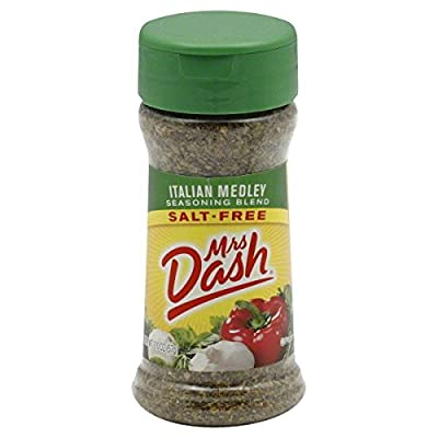 MRS DASH - ITALIAN MEDLEY - SEASONING BLEND - SALT FREE - 1 x 57g JAR - AMERICAN IMPORTED by MRS DASH