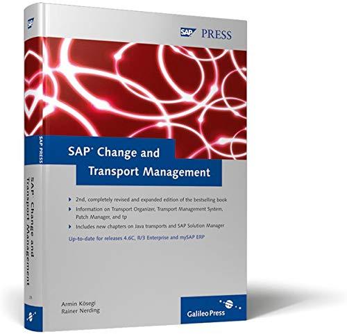 SAP Change and Transport Management (SAP PRESS: englisch)