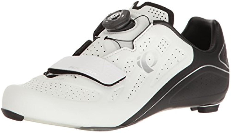 PEARL IZUMI Elite Road V5 Scarpe da Donna per Bici da Corsa Bianco Nero 2017, 42 | Moda Attraente  | Scolaro/Signora Scarpa