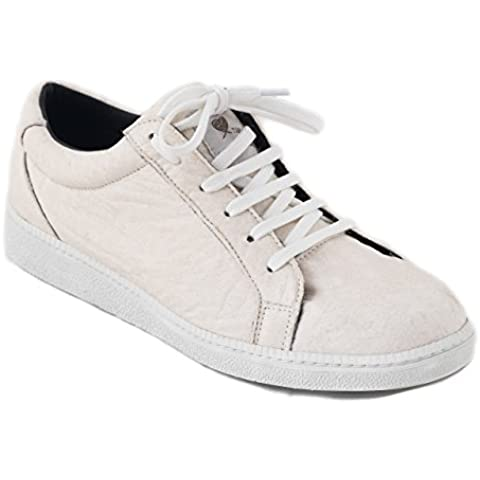 nae Basic White - Zapatos Unisex 100% veganos y ecológicos. Fabricados con Piñatex, tejido a base de hojas de