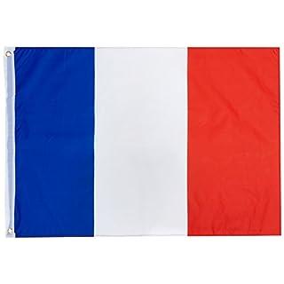 Rubie's Rubies–170267–Frankreich Flagge–90x 60cm