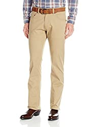 Wrangler Mens Retro Slim-Fit Straight-Leg Jean, Fawn, 30x34