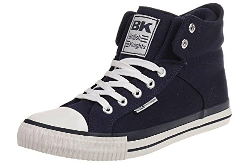 British Knights Roco - Herren Sneaker / High-Top-Schuh Navy (Blau)