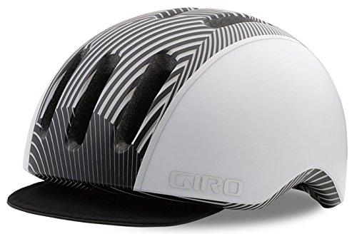 Giro Reverb City Fahrrad Helm weiß/schwarz 2018: Größe: S (51-55cm) (Giro Reverb Helm)