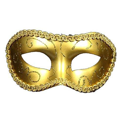 Kostüm Frauen Gras Mardi - VAWAA 1pc Männer Frauen Kostüm Prom Maske Venezianischen Mardi Gras Party Tanz Maskerade Ball Halloween Maske Party Liefert