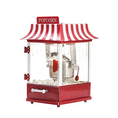 Melissa 16130167 Popcorn Maker/Popcornmaschine im American Diner Retro Design