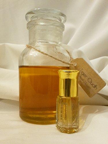 3ml Tiger Oudh alkoholfreier Halal Mekka Kaaba Adlerholz Amber Duft Attar Duftöl (Baby Soft Parfüm)
