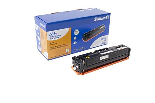 Pelikan Toner ersetzt HP CF402A (passend für Drucker HP Color LJ Pro M 252 / -270 / -274 / -277)