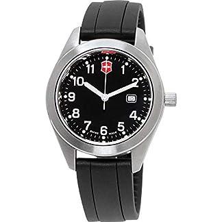 Victorinox Garrison Reloj de Hombre Cuarzo 34mm Correa de Silicona 26033.CB