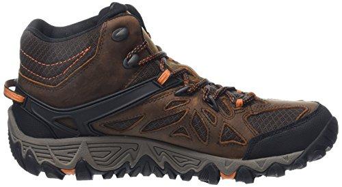 Merrell Blaze Ventilator Mid Gore-Tex, Chaussures de Randonnée Hautes Homme, Marron Marron (Burnt Maple)