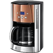 Russell Hobbs Luna Filter Coffee Machine - Copper