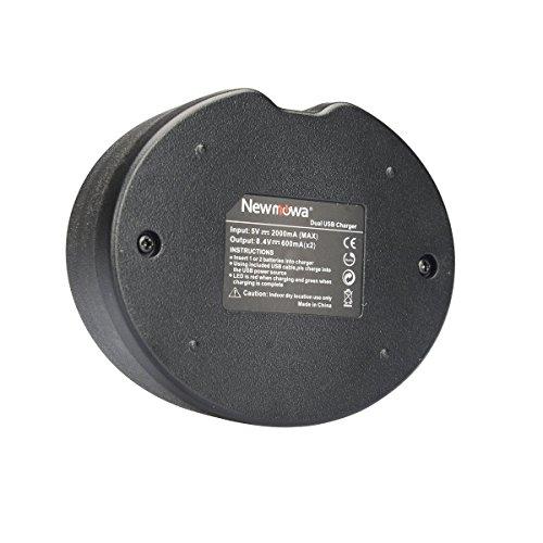Newmowa Ultradünnes USB Ladegerät für Nikon EN-EL14 und EN-EL14a and Nikon P7000, P7100, P7700, P7800, D3100, D3200, D3300, D3500, D5100, D5200, D5300