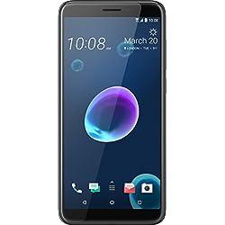 HTC Desire 12 Smartphone Portable débloqué 4G (Ecran: 5,5 Pouces - 32 Go - Nano-SIM - Android) Noir