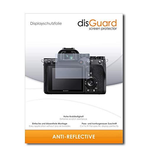 disGuard Displayschutzfolie [Anti-Reflex] kompatibel mit Sony Alpha 7R IV [2 Stück] Entspiegelnd, Matt, Antireflektierend, Extrem Kratzfest, Anti-Fingerabdruck - Panzerglas Folie, Schutzfolie