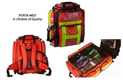 Emergency Medical Paramedic Backpack (Red)