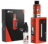 JOMO TECH Arrow 80W Sigaretta Elettronica Svapo Kit Completo, Una batteria da 2200mAh Incorporata E-cigs - No liquido, Senza Nicotina né Tabacco (Rosso)