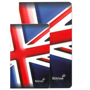 silvine-perfect-bound-union-jack-pocket-notebook-pack-of-10-per64uk