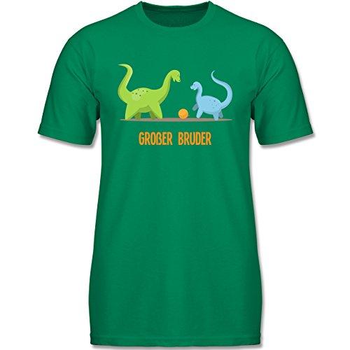 erliebe Kind - Großer Bruder Dinosaurier - 152 (12-13 Jahre) - Grün - F140K - Jungen T-Shirt (Oster-shirts Für Jungen)