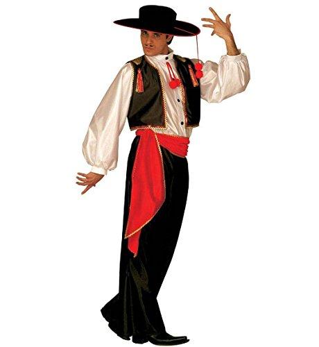 Spanier Kostüm Flamenco Latin (Latin Tänzer Kostüm)