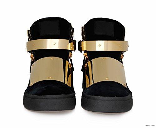 giuseppe-zanotti-velvet-green-gold-plated-london-high-top-sneaker-rdu329-designerschuhe-herrenschuhe