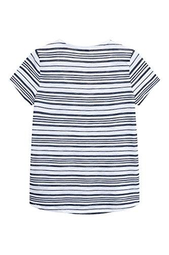 next Donna T-Shirt Fiammata Striscia